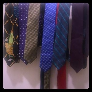 Men/'s Designer Neck Ties Bundle Lot of 5 By Club Room